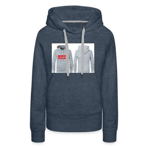 elgiro gray hoodie - Women's Premium Hoodie