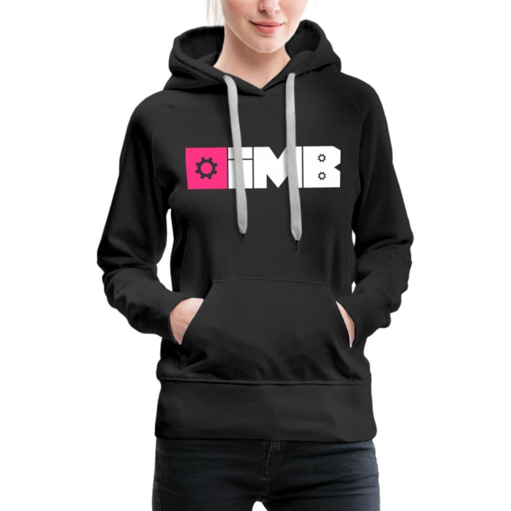 IMB Logo (plain) - Women's Premium Hoodie - black