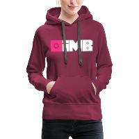 IMB Logo (plain) - Women's Premium Hoodie bordeaux
