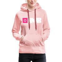 IMB Logo (plain) - Women's Premium Hoodie crystal pink