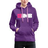 IMB Logo (plain) - Women's Premium Hoodie - purple