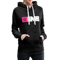 IMB Logo (plain) - Women's Premium Hoodie - charcoal grey