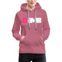 IMB Logo (plain) - Women's Premium Hoodie mauve