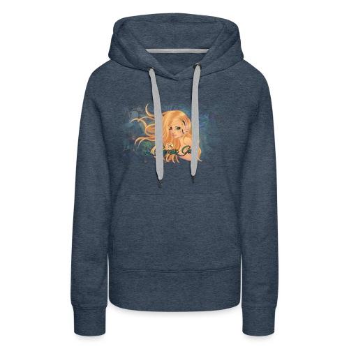 GamerGirl - Dame Premium hættetrøje