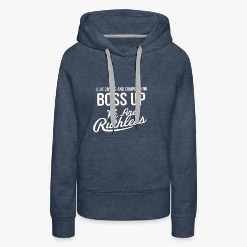 BOSS UP RsC - Women's Premium Hoodie