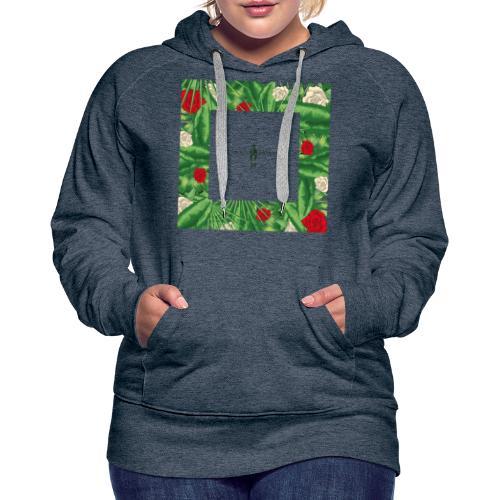 Urban Jungle | Tropical Square - Frauen Premium Hoodie