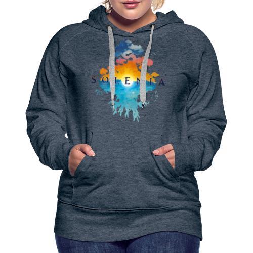 Solenia - Sweat-shirt à capuche Premium pour femmes
