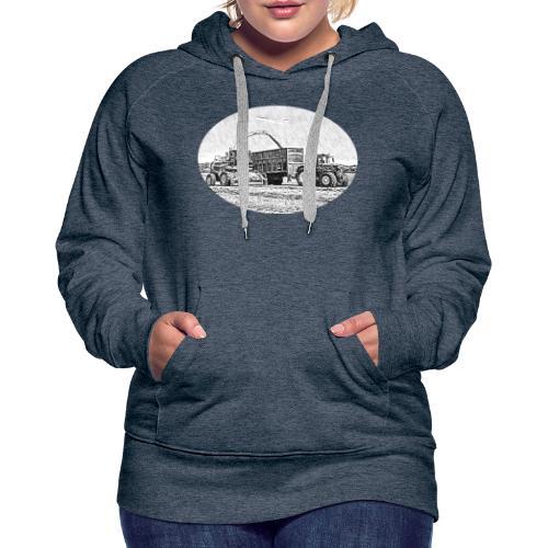 Sillageernte - Frauen Premium Hoodie
