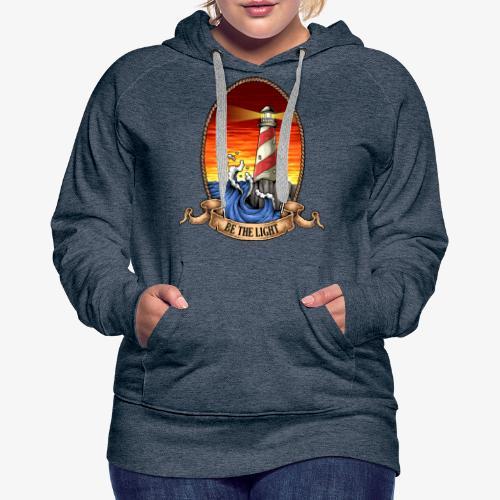 Phare - Sweat-shirt à capuche Premium pour femmes