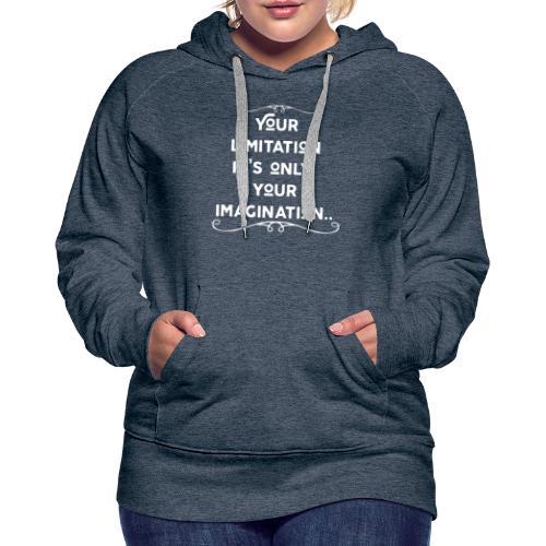 Motivation - Frauen Premium Hoodie