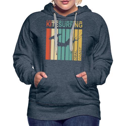 Kitesurfing Opal Coast II - Sweat-shirt à capuche Premium pour femmes