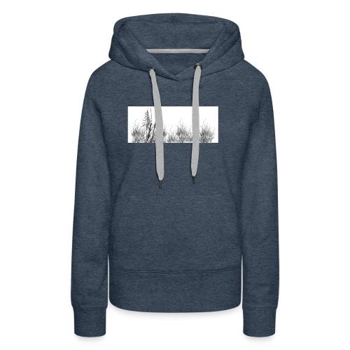 Grass jpg - Sweat-shirt à capuche Premium pour femmes