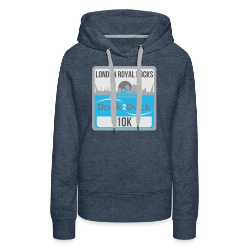 DOCK 2 DOCK CLASSIC BADGE - Women's Premium Hoodie