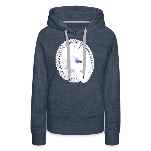Wearable Cardistry - Universe - Sweat-shirt à capuche Premium pour femmes