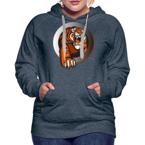 tiikeri - Naisten premium-huppari