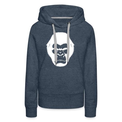 Gorille - Sweat-shirt à capuche Premium pour femmes
