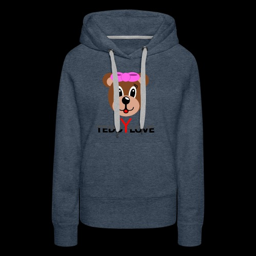 TEDDYLOVE Woman - Frauen Premium Hoodie