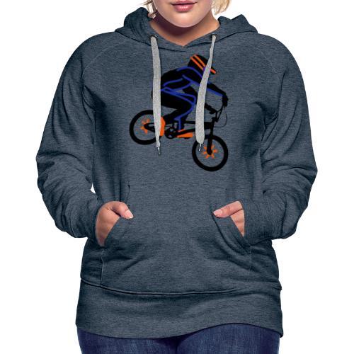 BMX Rider Dark - Vrouwen Premium hoodie