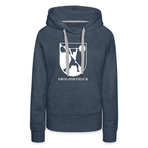 Gewichtheffen Utrecht Logo Trui - Vrouwen Premium hoodie
