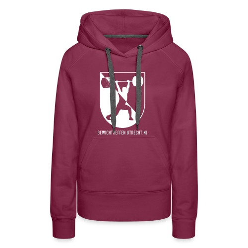Modern Logo - Vrouwen Premium hoodie