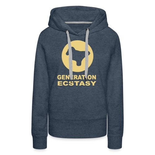 Generation Ecstasy featuring a Dove Pill - Women's Premium Hoodie