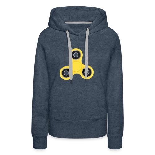Hand Spinner - Sweat-shirt à capuche Premium pour femmes