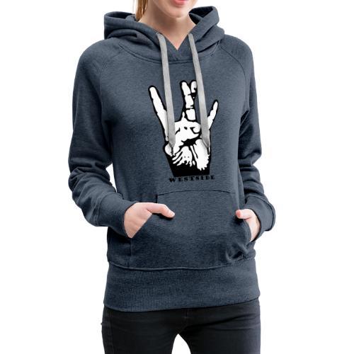 West Side - Sweat-shirt à capuche Premium pour femmes