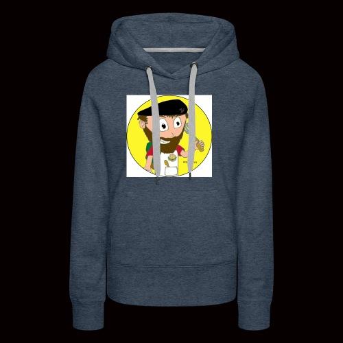 r svg - Sweat-shirt à capuche Premium pour femmes