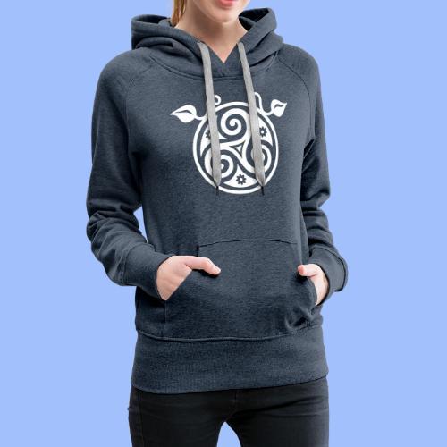 Triskell - Sweat-shirt à capuche Premium pour femmes