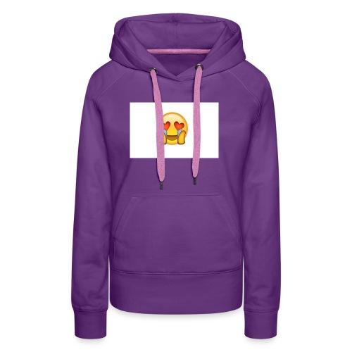 Emoij Hoesje - Vrouwen Premium hoodie