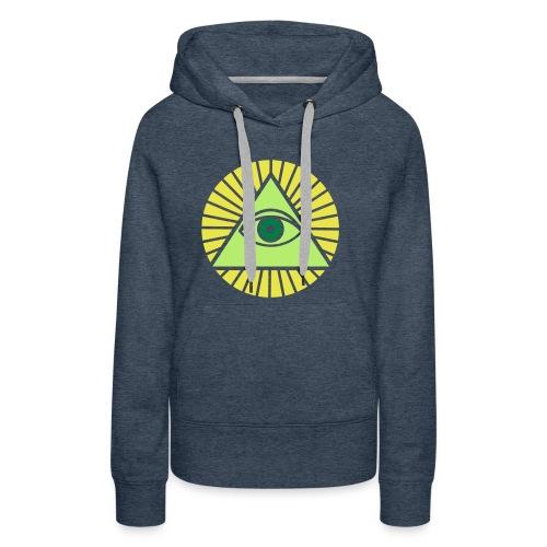 Illuminati - Women's Premium Hoodie