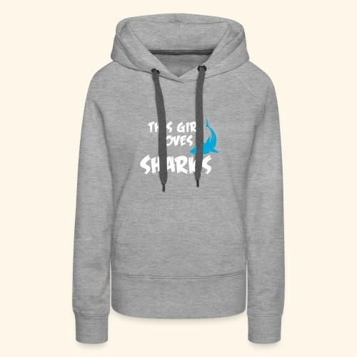 Hai Frauen T-Shirt Englisch - Frauen Premium Hoodie