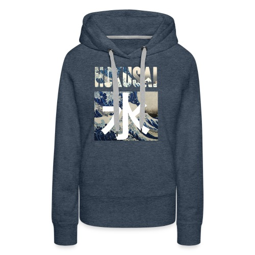 Hokusai Great Wave - Women's Premium Hoodie