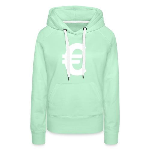 EuroWhite - Sweat-shirt à capuche Premium pour femmes