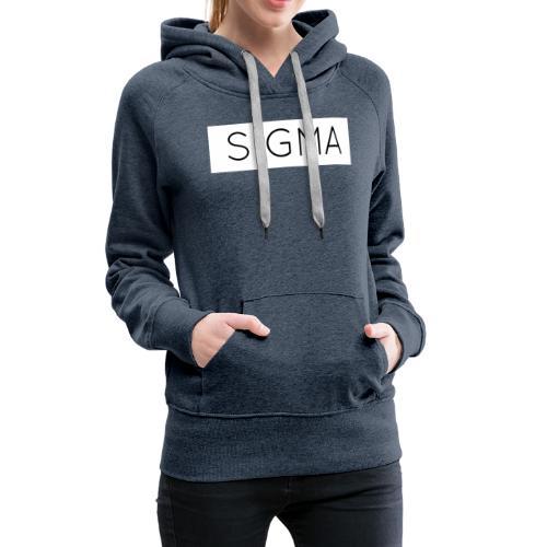 SIGMA - Women's Premium Hoodie