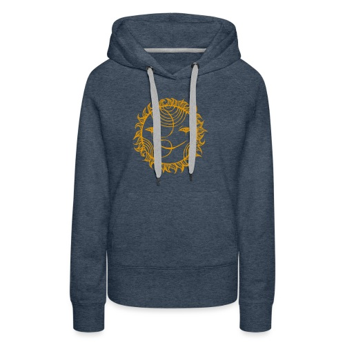 Golden Sunmoon Rising - Women's Premium Hoodie