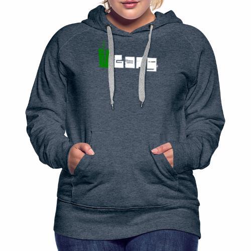 V Gang Vegan Vegetarier Lifestyle Shirt T-Shirt - Frauen Premium Hoodie