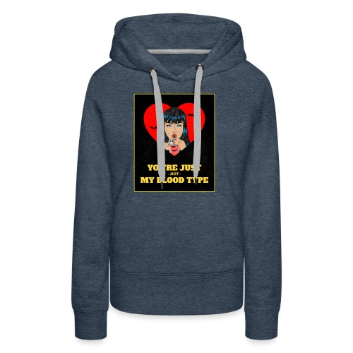 T-Shirt Femme Vous n'êtes pas mon groupe... Cadeau - Sweat-shirt à capuche Premium pour femmes