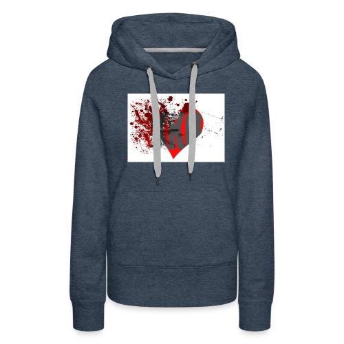 heart break kko - Frauen Premium Hoodie