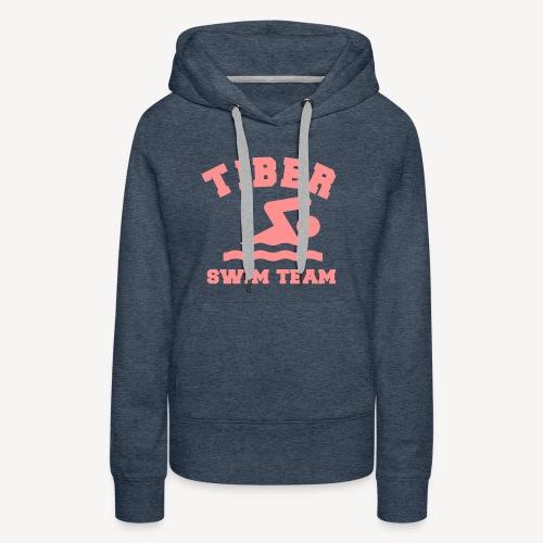 TIBER SWIM TEAM - Women's Premium Hoodie