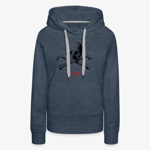 MORT - Sweat-shirt à capuche Premium pour femmes