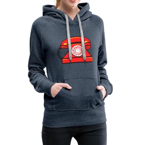 PhoneRED - Women's Premium Hoodie