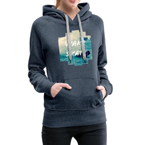 wakeskate new style - Frauen Premium Hoodie