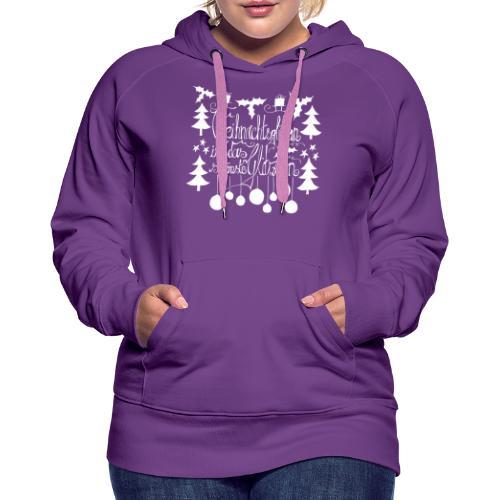 Weihnachtsglitzern - Frauen Premium Hoodie