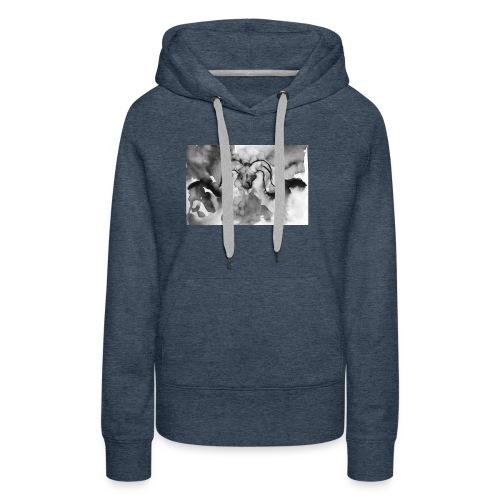 Animal spirit - Sudadera con capucha premium para mujer