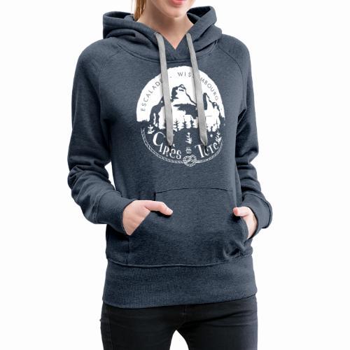 Rocher - Sweat-shirt à capuche Premium pour femmes