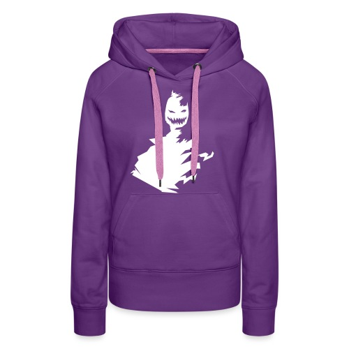 t-shirt monster (white/weiß) - Frauen Premium Hoodie