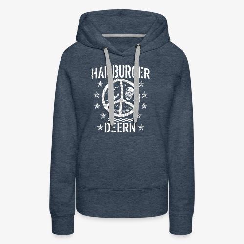 97 Hamburger Deern Peace Friedenszeichen Seil - Frauen Premium Hoodie