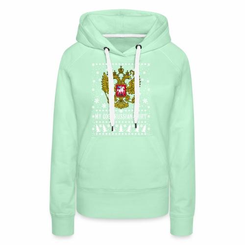 116 My Cool Russian Shirt Russland T-Shirt Snow - Frauen Premium Hoodie