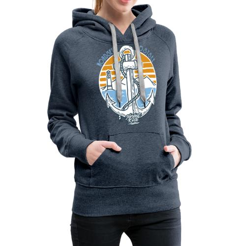 Ankerpunkt Nordsee Ostsee - Frauen Premium Hoodie